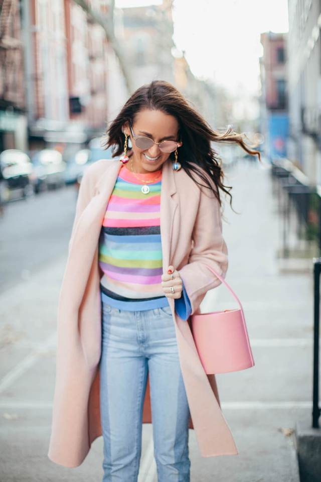 Feeling For Rainbow Stripes | elizahiggins.com