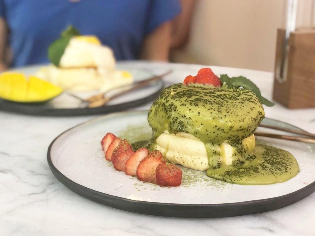 Souffle Cafe Japanese pancakes rotterdam