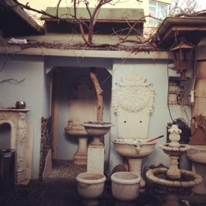 Antiekzaak in ortaköy, istanboel