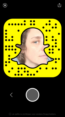 snapchat code Elja Daae