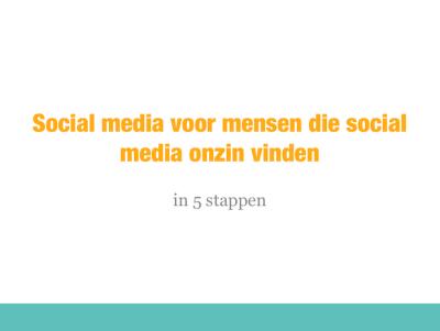 social media onzin
