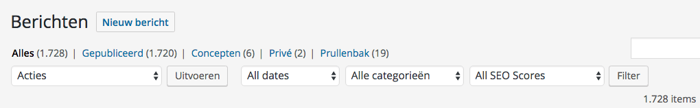 filter berichten op categorie