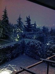 sneeuw in Istanbul