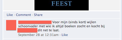 Reageren op Facebook