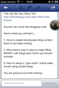 leren bloggen?