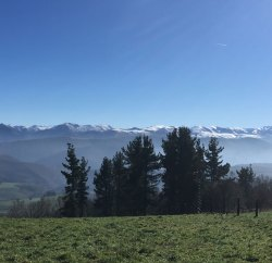 Vista desde el alto Piedratecha (Tineo)