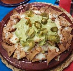 Antojitos de nachos