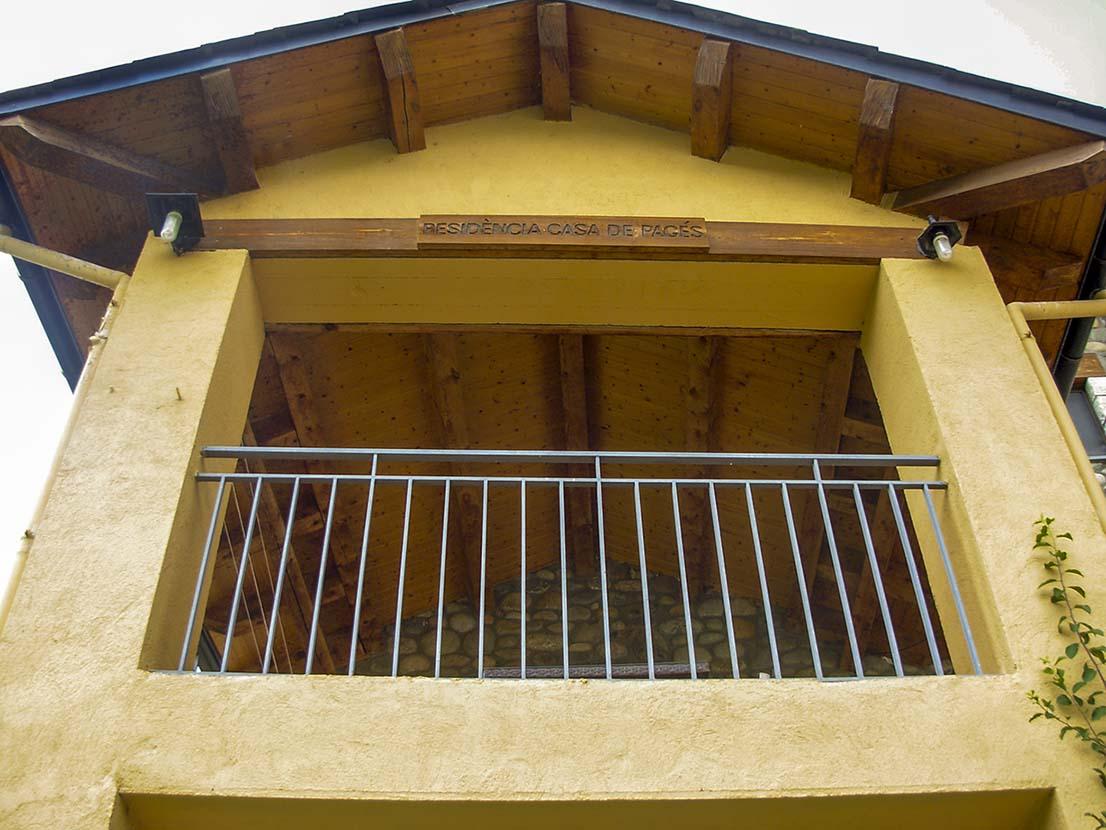 Façana exterior