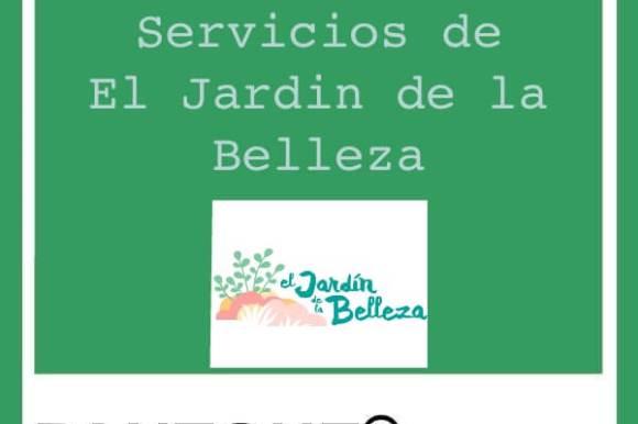 Carta de servicios de El Jardin para embellecerte