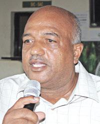 Sr. Juan Silvestre de Jesús, presidente de Cooproagro.