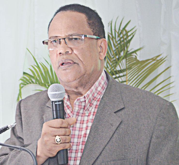 Dr. José Polanco Liranzo, socio fundador tuvo a su cargo las palabras de bienvenidas.