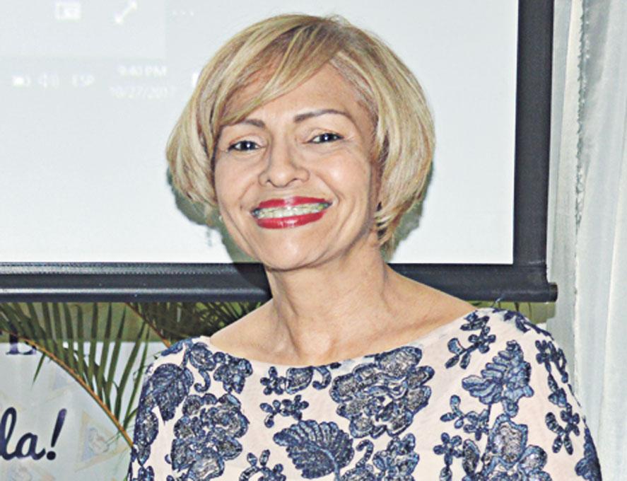 Dra. Digna Tejada, Presidenta del Centro Materno Infantil de Nordeste pronunció unas emotivas palabras en su discurso central.