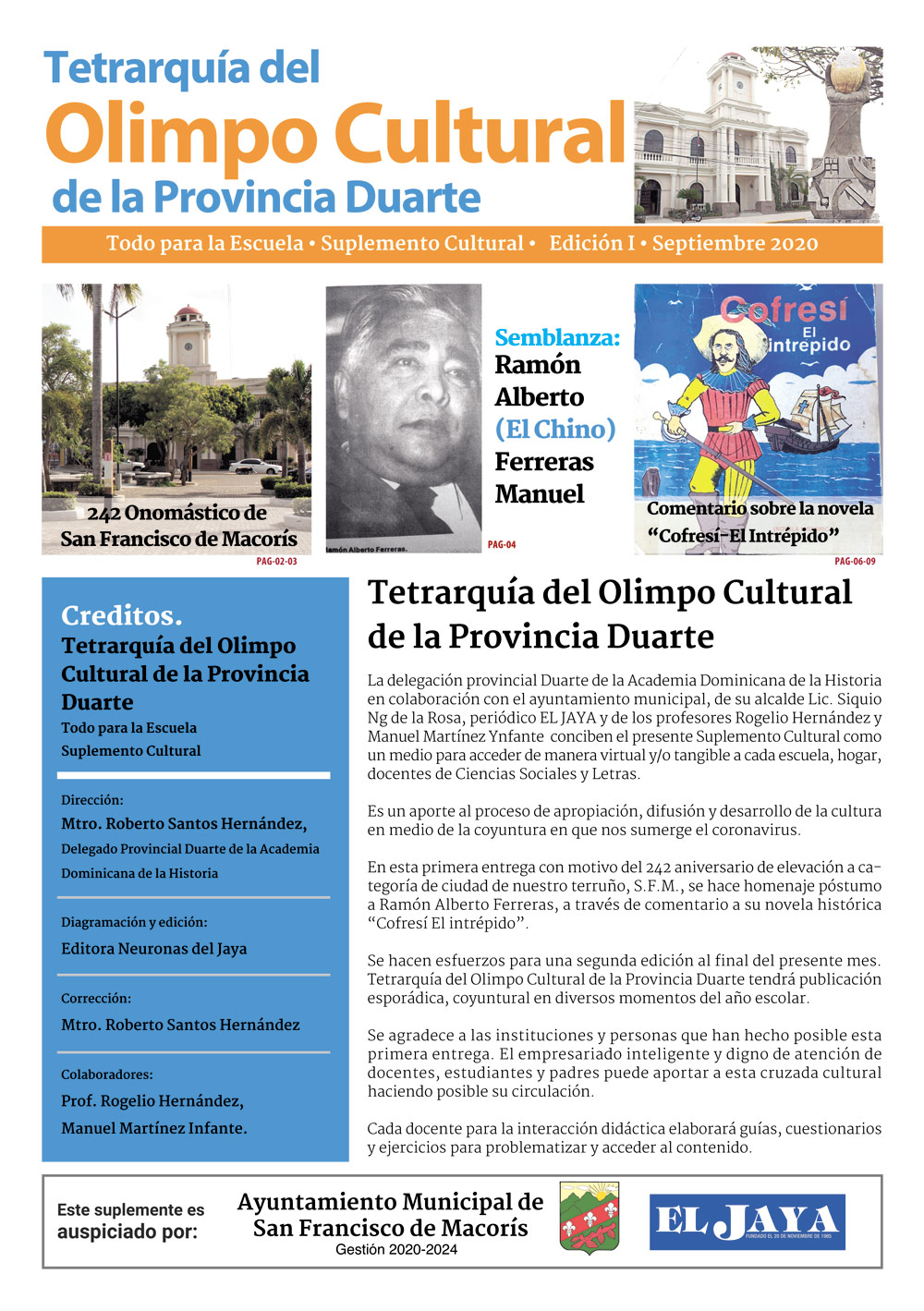 Tetrarquía del Olimpo Cultural de la Provincia Duarte