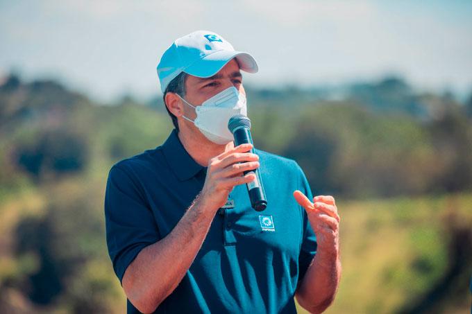 El señor Christopher Paniagua, presidente ejecutivo del Banco Popular, reseñó el compromiso de la entidad bancaria con la mitigación de los efectos del cambio climático.