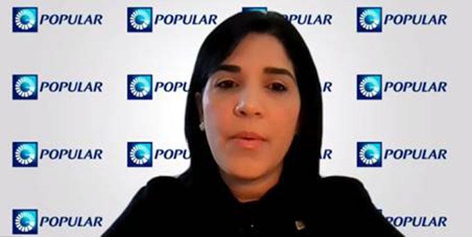 La vicepresidente de Relaciones Públicas del Banco Popular Dominicano, señora Mariel Bera, explicó que APRENDO es una gran oportunidad para que los docentes adquieran nuevas dinámicas de adaptación y salgan victoriosos de esta compleja situación.