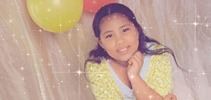 niña Franyeily hija de Franklin Paulino y Dulce Herrera