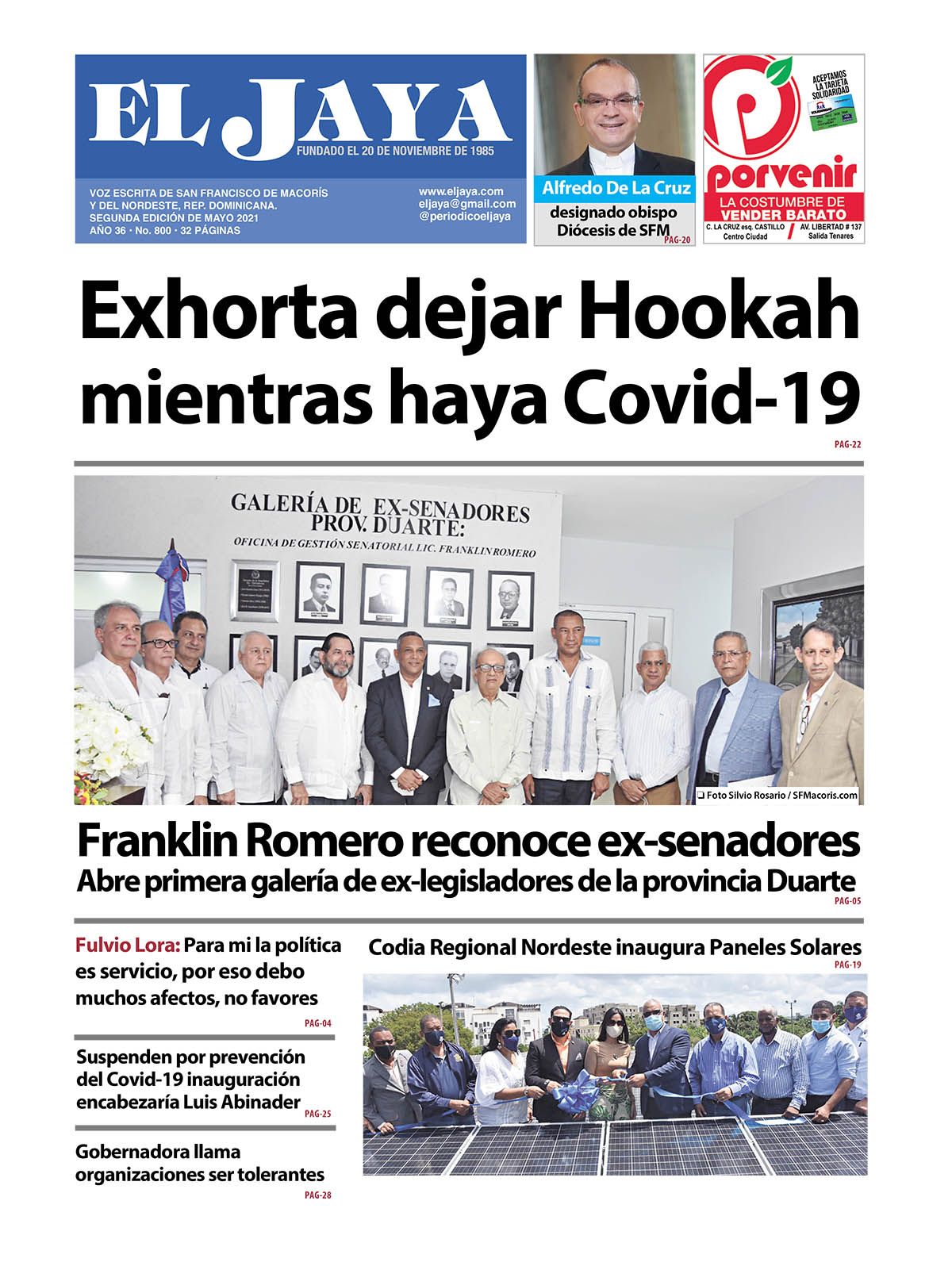 EL JAYA 800 Segunda edición de Mayo 2021