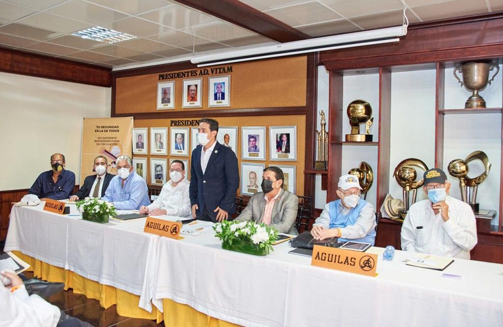 Quilvio Hernandez Casanova fue reelecto presidente del Consejo Directivo de las Águilas Cibaeñas S.A.S,