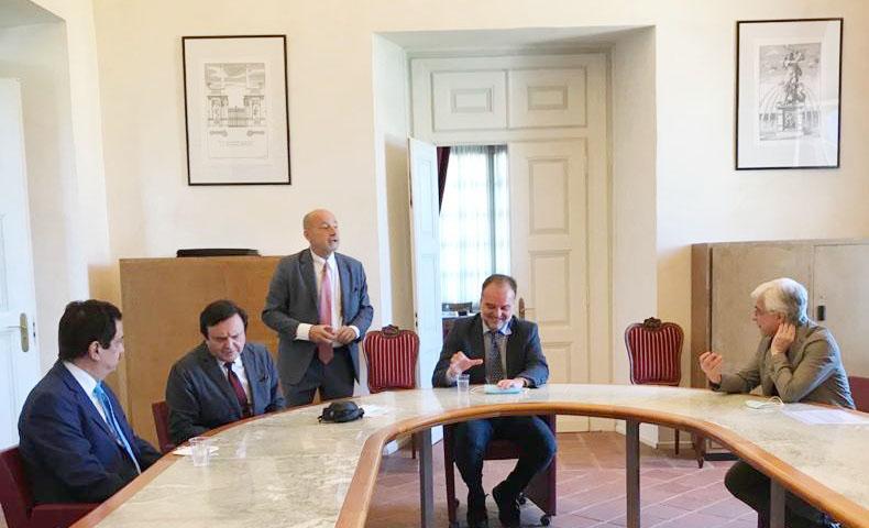 El Zemí de Algodón en foto de catalogación de la Universidad de Turín.