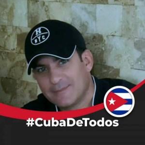 José Alberto Fernández, del movimiento Embajada Cívica Cubana.