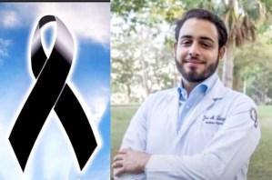 José Mauricio Lantigua Estrella, el joven médico de 24 años quien falleció la madrugada del domingo 22 de agosto.