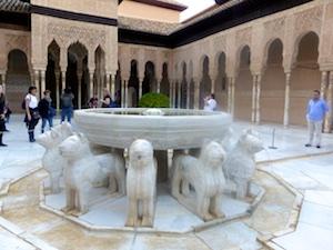 Patio de los Leones Alhambra 2015-11-07 Foto Elke Backert