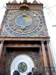 Astronomische Uhr Marienkirche Rostock 2016-04-23 Foto Elke Backert