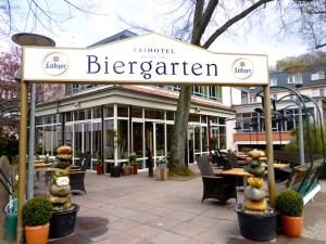Biergarten Trihotel Rostock 2016-04-23 Foto Elke Backert