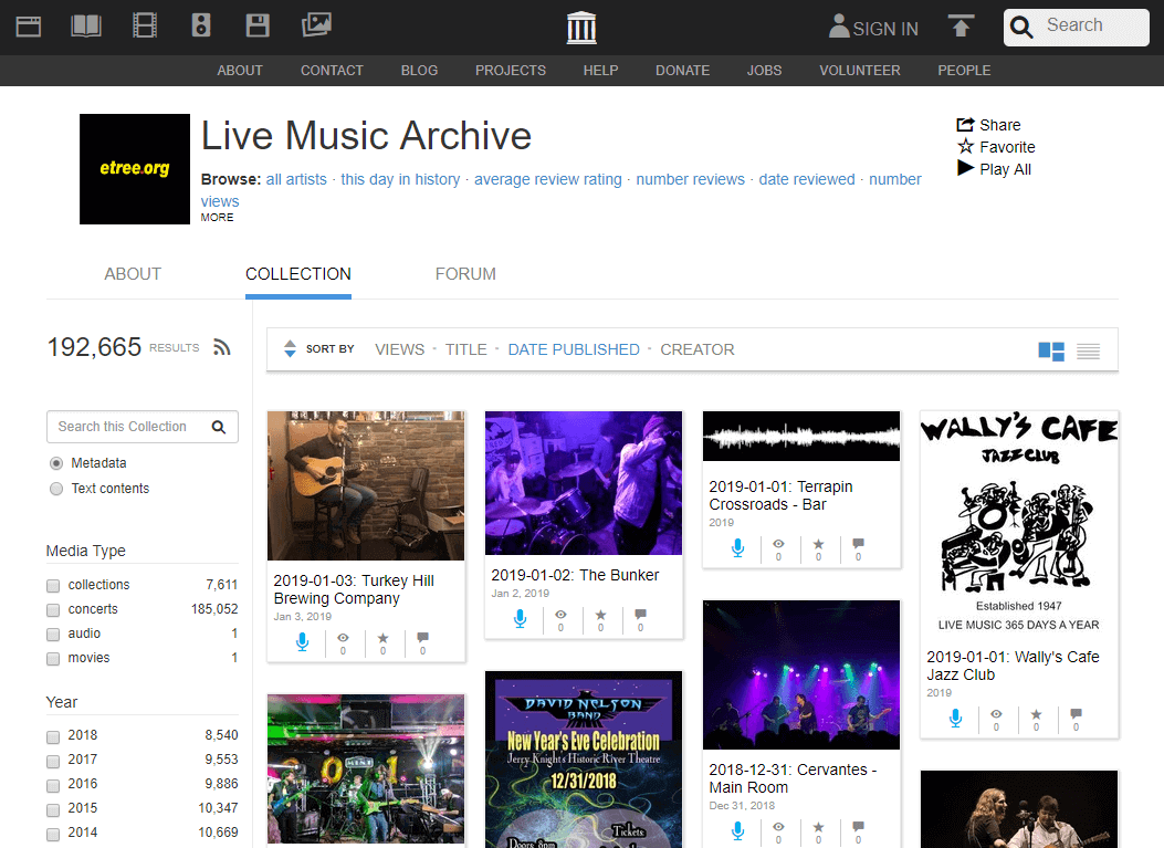 Internet Archive Free Music Download