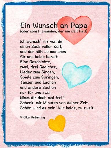 Ein Wunsch An Papa Elkes Kindergeschichten