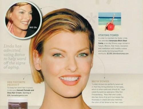 New Beauty Linda Evangista