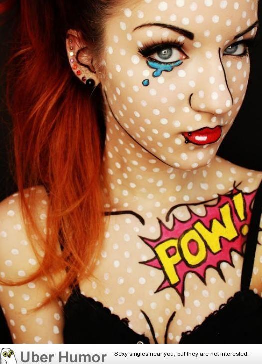 Beautiful Halloween Makeup Ideas 22