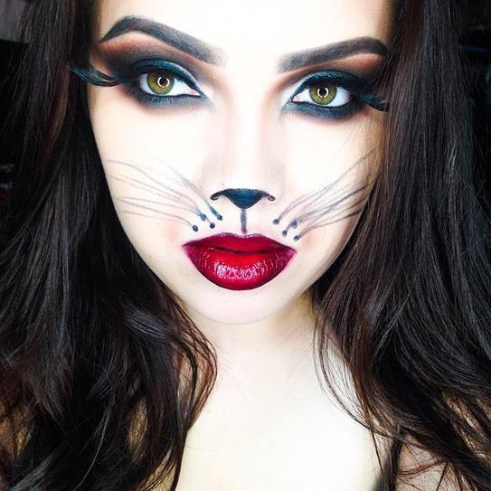 Beautiful Halloween Makeup Ideas 9