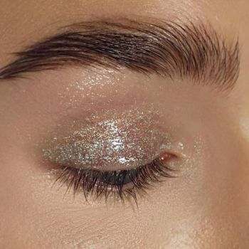 Glittery Brows