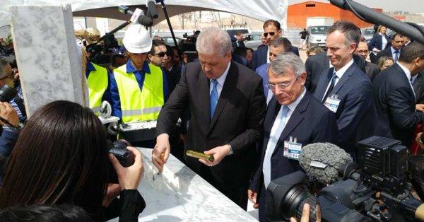 Total lance la réalisation de son usine de lubrifiants en Algérie 2