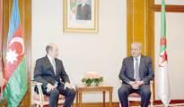 Sellal reçoit le ministre azerbaïdjanais de la Justice : Renforcement de la coopération 47