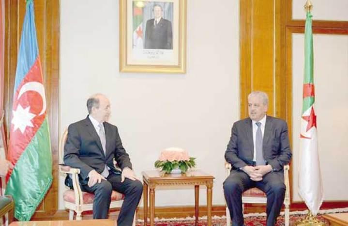 Sellal reçoit le ministre azerbaïdjanais de la Justice : Renforcement de la coopération 2