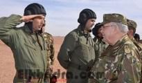Gaïd Salah réaffirme à Béchar l'importance de rehausser le niveau d'instruction des Forces armées 43