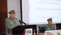 Gaïd Salah souligne la nécessité d'inclure le module d'Histoire comme matière fondamentale dans les programmes d'enseignement de l'ANP 40