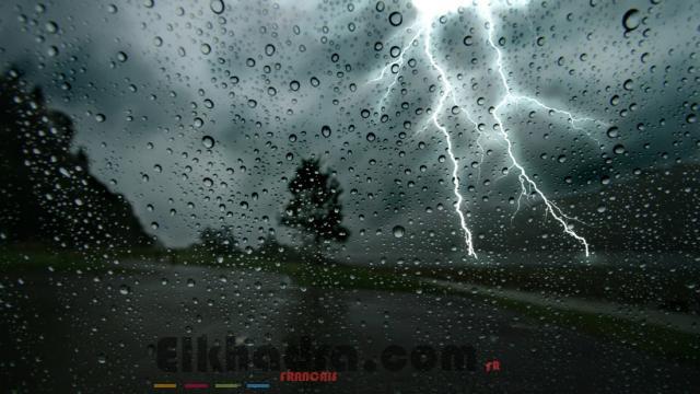 Météo Algérie- Fortes pluies orageuses sur 7 wilayas du Nord 2