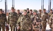 Gaïd Salah en visite de travail à la 6ème Région militaire à Tamanrasset ce dimanche 37