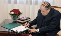 Bouteflika signe 5 décrets présidentiels de coopération avec plusieurs pays 22