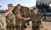 Gaïd Salah salue les résultats réalisés en matière de lutte antiterroriste et de sécurisation des frontières 33