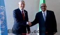Messahel reçoit l'émissaire onusien pour le Sahara occidental, Horst Kohler 27