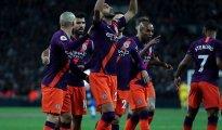 Manchester City s'impose face à Tottenham avec un but de Riyad Mahrez 26