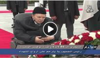 VIDEO : Bouteflika se recueille à la mémoire des Chouhadas à El Alia 33