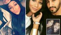 Riyad Mahrez Stunning Wife Model Rita Johal 3