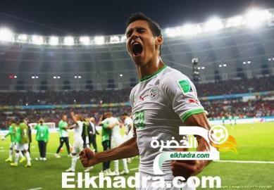 ماندي يغيبعن المباراة المقبلة للجزائر أمام توجو بسبب الإيقاف 24