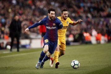 ميسي يقود برشلونة للفوز على اتلتيكو مدريد والابتعاد بصدارة الليجا 60