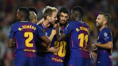 برشلونة يحقق الفوز على فالنسيا ويقترب من حسم الليجا 34